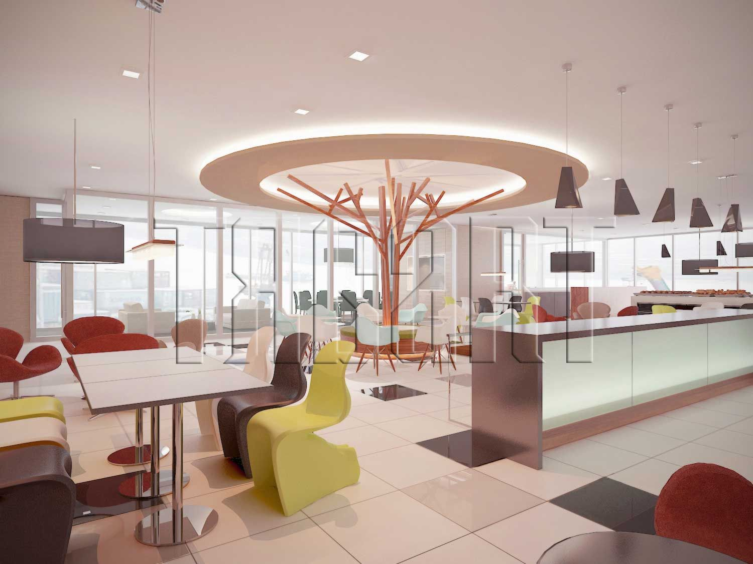 Interior design lunch room interior design process for Office lunch room design ideas