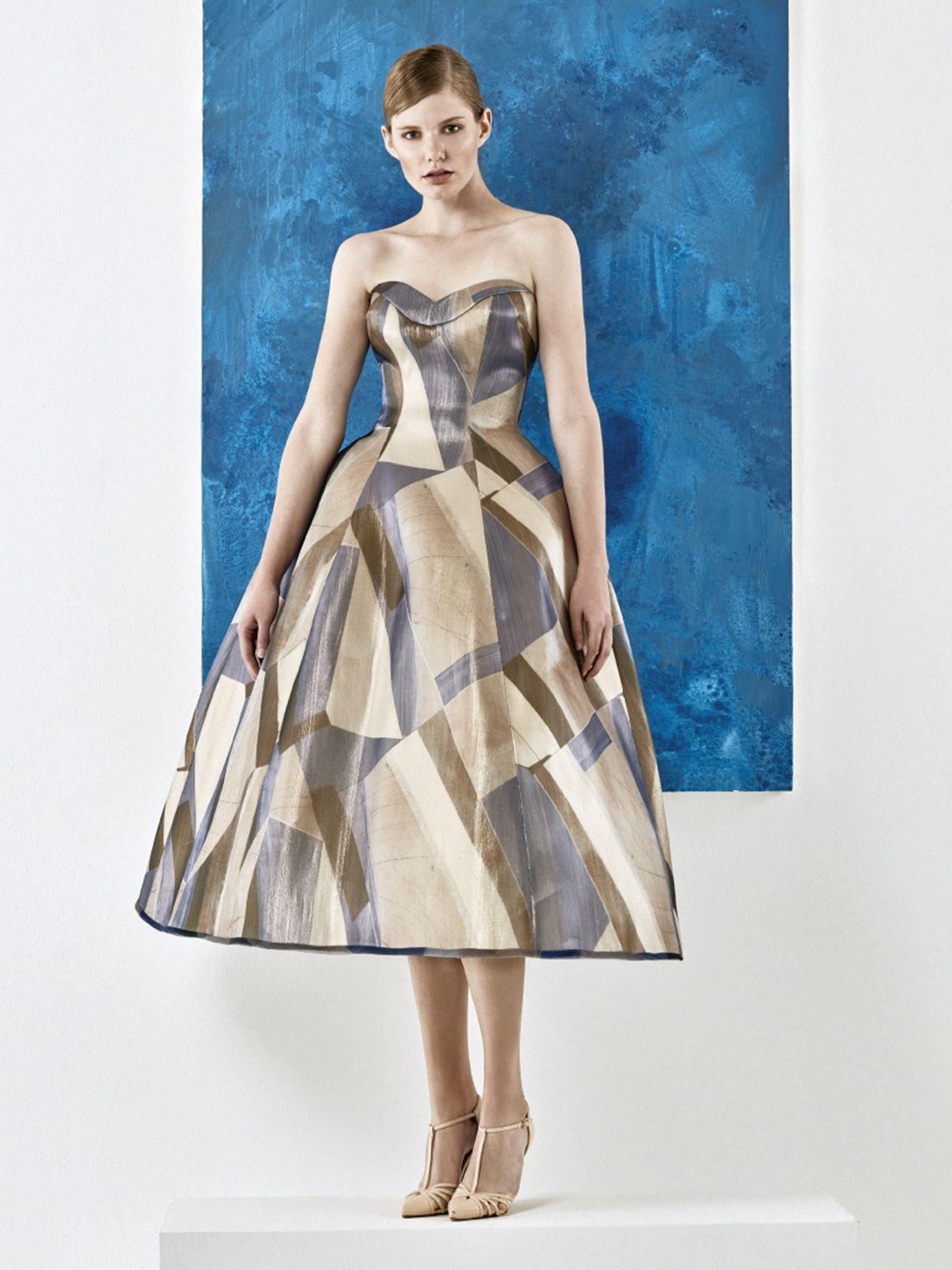 Vestido de fiesta de YolanCris colección 2017. #vestido #fiesta ...