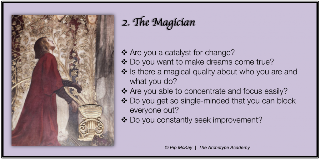 The 8 archetypes of identity the magician archetypes the 8 archetypes of identity the magician archetypes archetypalcoaching nlp pipmckay fandeluxe Choice Image