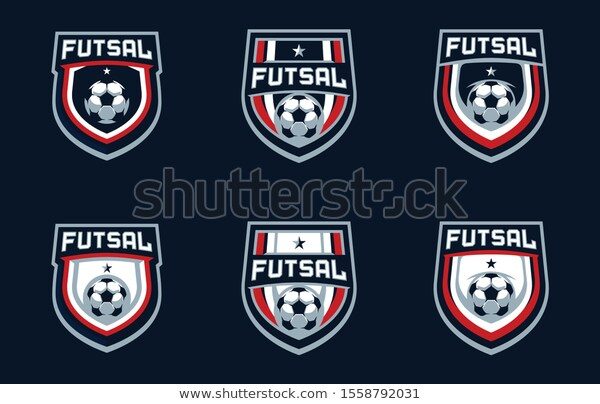 Find Futsal Team Sport Logo Design Stock Images In Hd And Millions Of Other Royalty Free Stock Photos Illustrations Sports Logo Design Sports Logo Logo Design