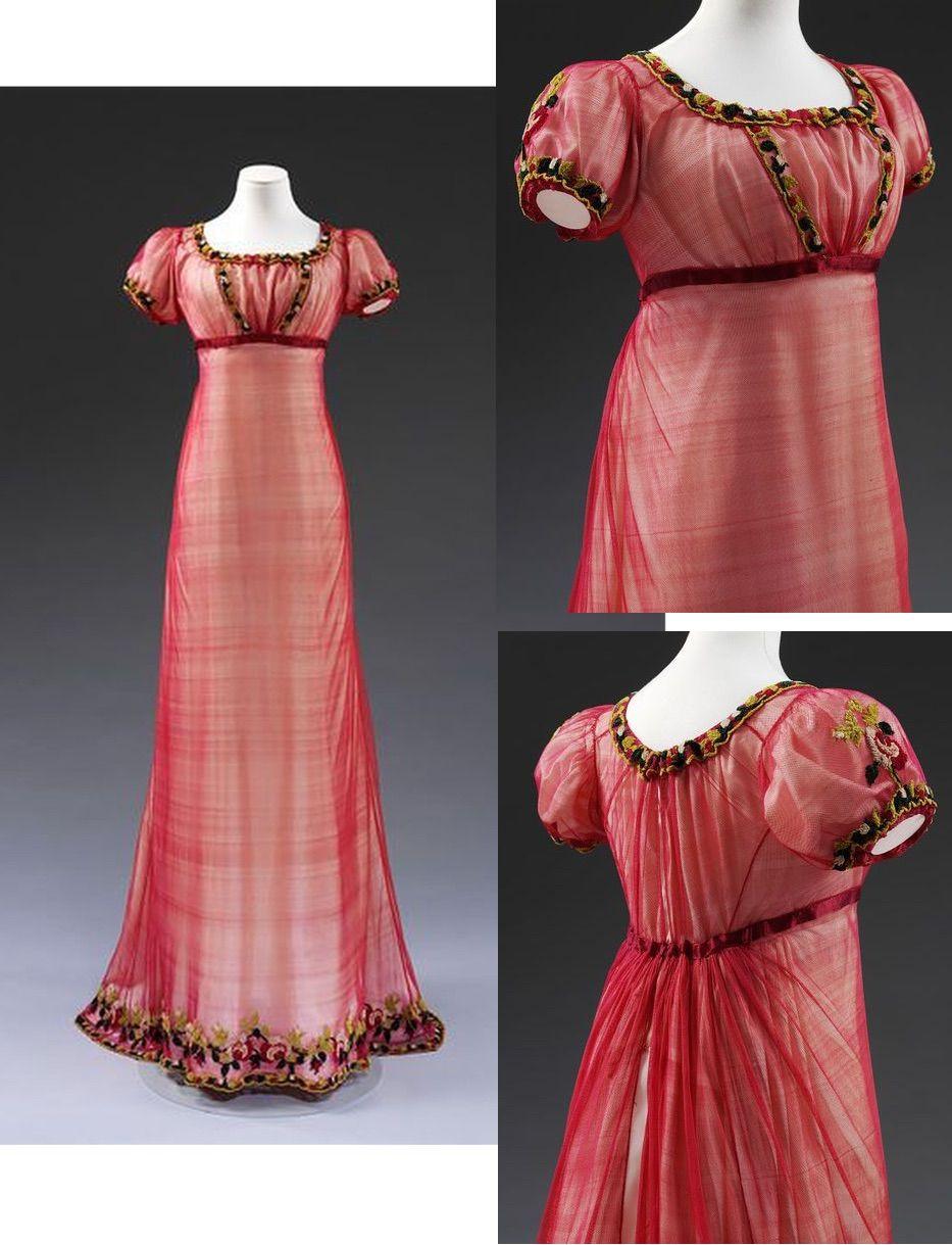 British empire long dress