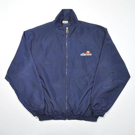 b385a18d72254 Rare Vintage 90s ELLESSE Track Jacket / ELLESSE Vintage Windbreaker ...