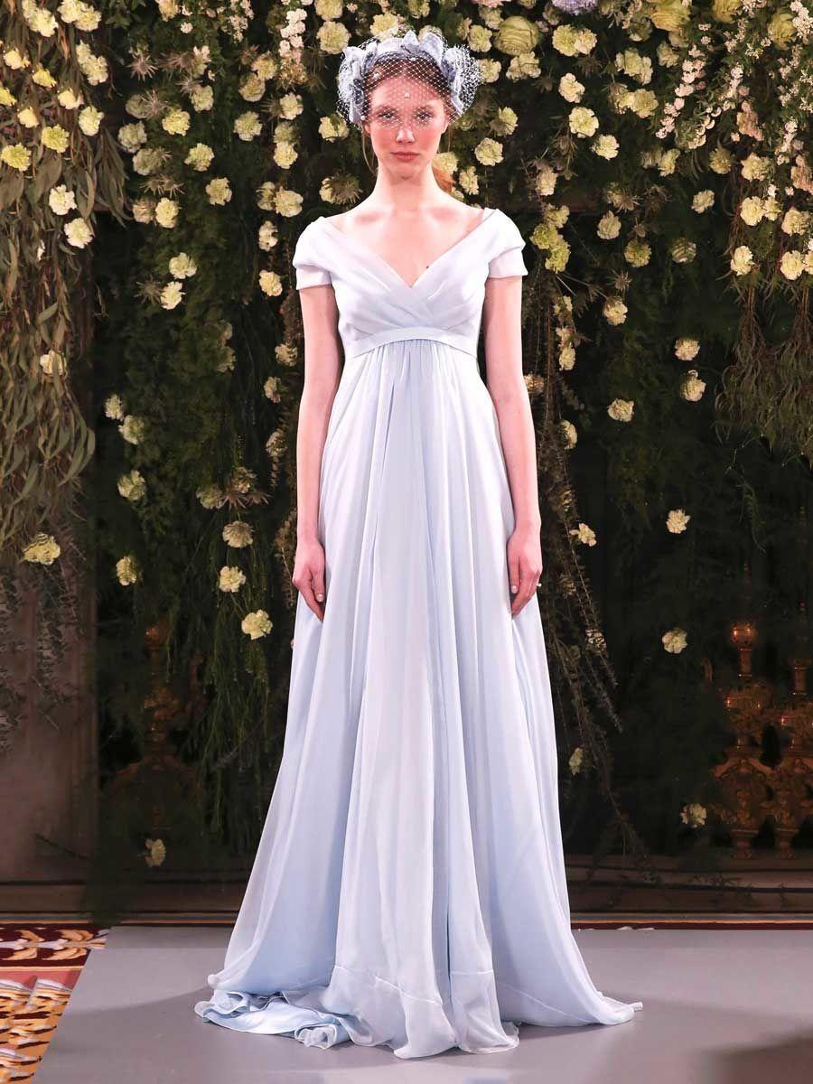 Jenny packham spring ultrafeminine dresses for romantic