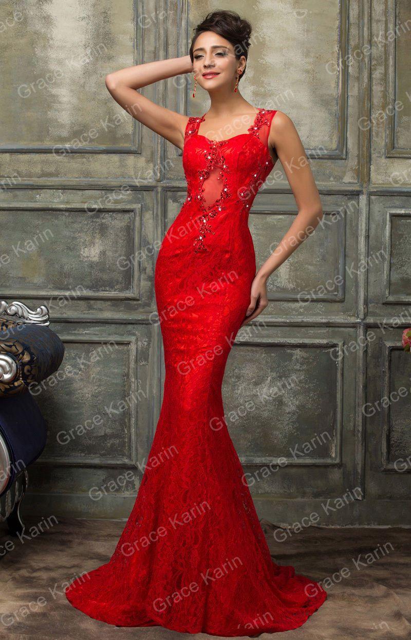 Robe rouge courte ebay