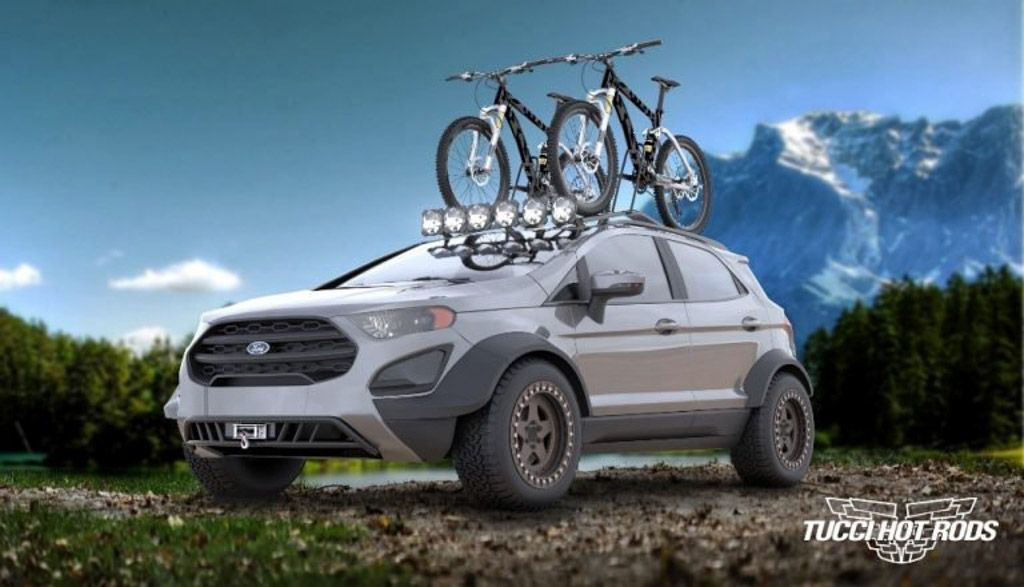 This Customised Ford Ecosport Is For Extreme Off Road Adventures Ford Ecosport Suv Ford Edge