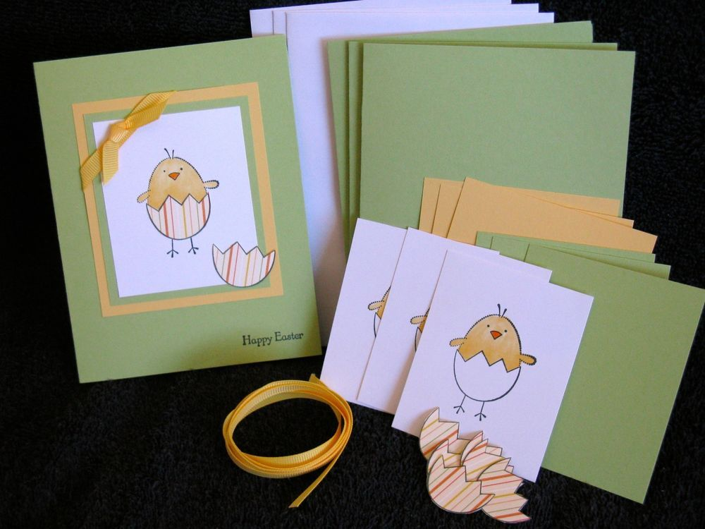 If you make your own Easter cards or want to start Stampin Up – Make Your Own Easter Cards