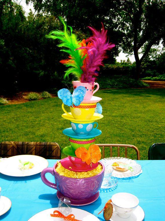 Peachy Alice In Wonderland Tea Party Centerpiece Tea Party Ideas Download Free Architecture Designs Rallybritishbridgeorg