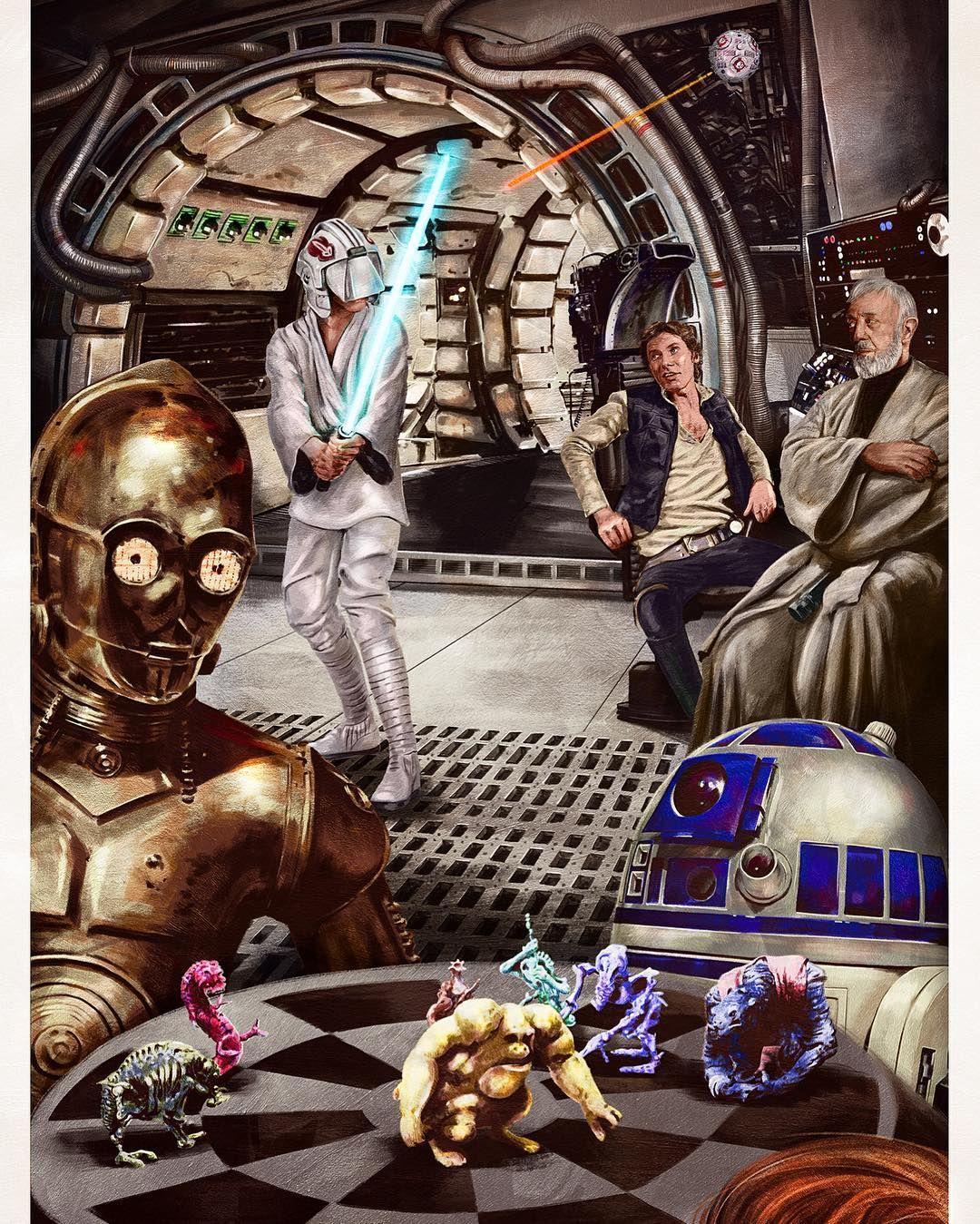 Star Wars Last Jedi S2 Blue Base Card #31 Witnessing Leia/'s Power
