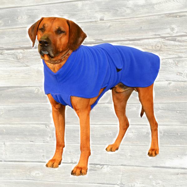 fleece dog coat | Made by De | Dog Apparel | Pinterest | Dog ...