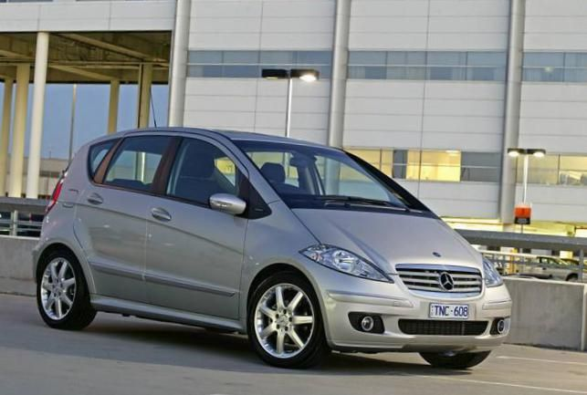 A-Class (W169) Mercedes Specification - http://autotras.com