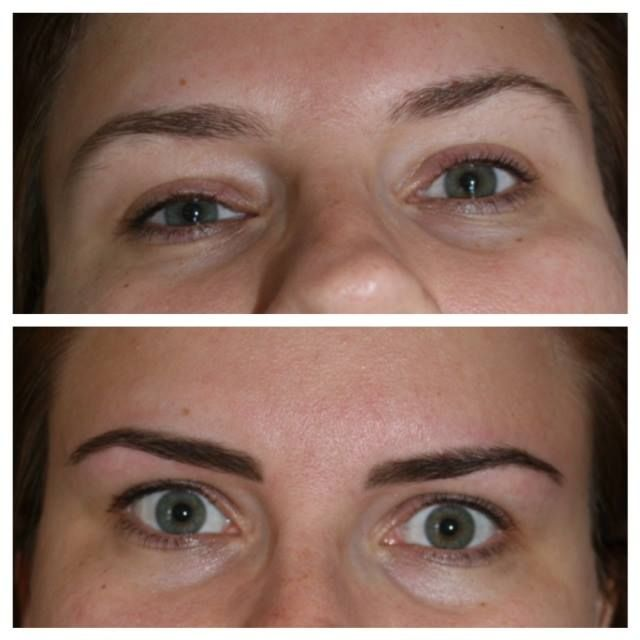 High Definition Eyebrow Before After Hd Eyebrow Before After