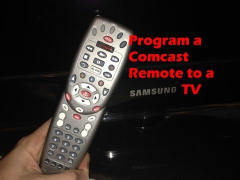 Program a Comcast Remote to a Samsung TV - YouTube   Comcast