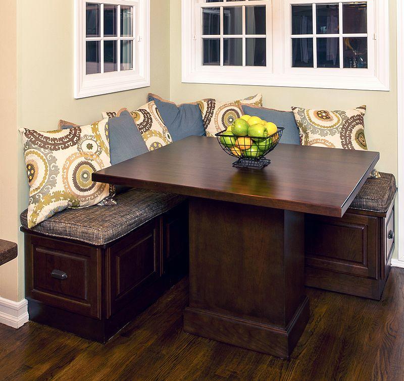 Small Corner Booth Kitchen Table Novocom Top