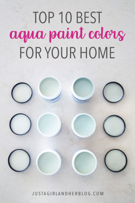 Top 10 Aqua Paint Colors for Your Home images