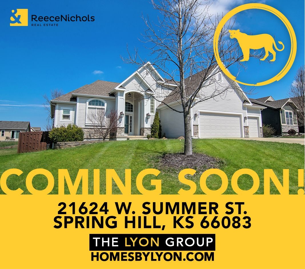 Coming Soon Hitting The Market Tomorrow 21624 W Summer St Spring Hill Ks 66083 Gorgeous 1 5 Story Overland Park Spring Hill Real Estate