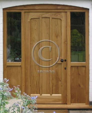 Browns range of quality external oak doors doors for Oak exterior doors