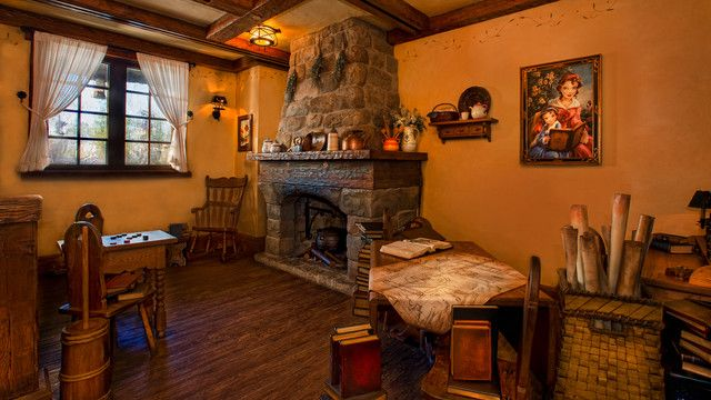Inside Maurice S Cozy Cottage At Enchanted Tales With
