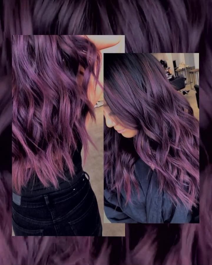 how to use overtone purple for brown hair