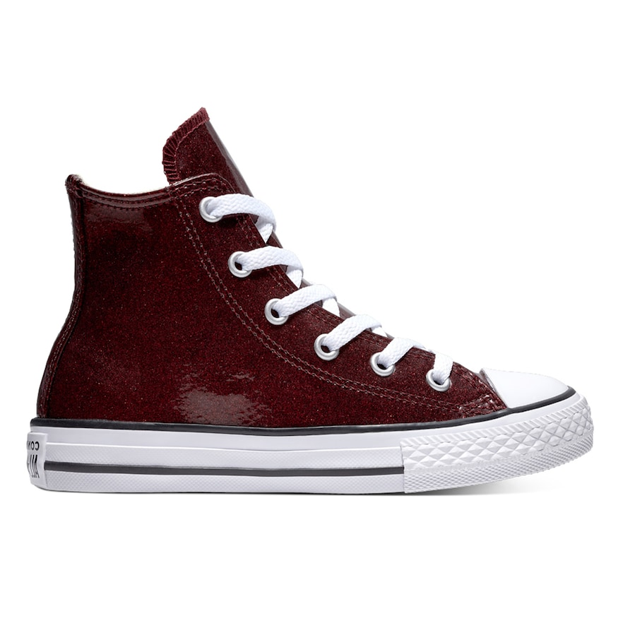353e5338aa208 Girls  Converse Chuck Taylor All Star Encapsulated Glitter High Top Shoes