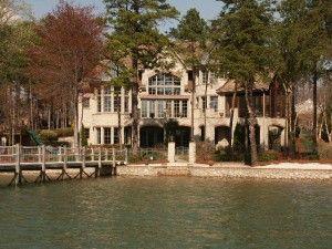 gorgeous home in lake norman, north carolina | Lake house ...