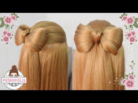 Peinados De Mariposa Faciles Para Cabello Largo Bonitos Y Rapidos Para Nina En Fiestas Y La Escuela Peinados Con Lazos Trenzas De Ninas Cabello Largo Bonito