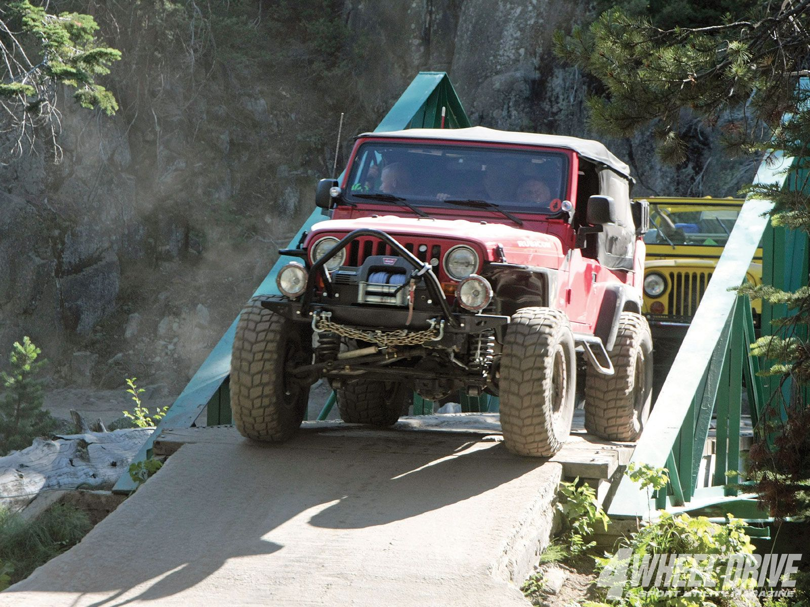 2009 Jeepers Jamboree Rubicon River Bridge Jeep Life Rubicon