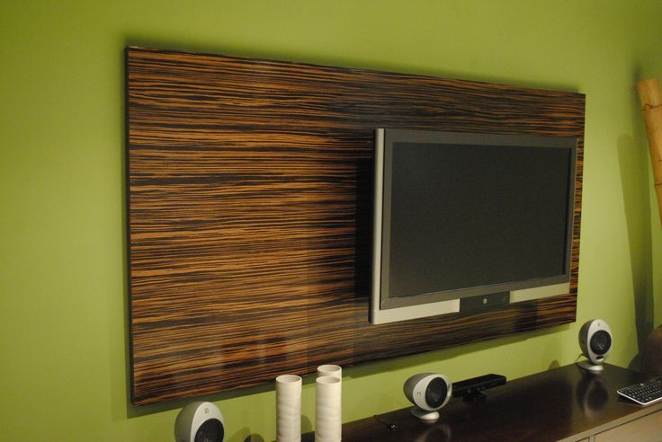 How To Mount Tv On Upholstered Wall Panels Google Search Wood Panel Walls Wood Wall Covering Tv Wall Panel