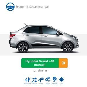Hyundai Grand I10 Sedan Manual Car