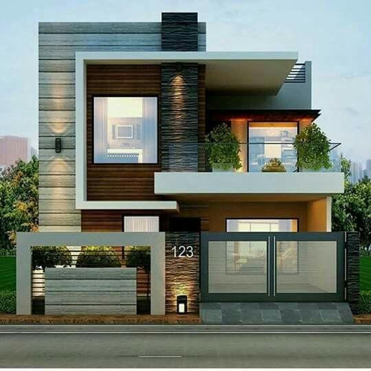 Fachada moderna! Casas Pinterest Fachadas modernas, Fachadas y - fachadas originales