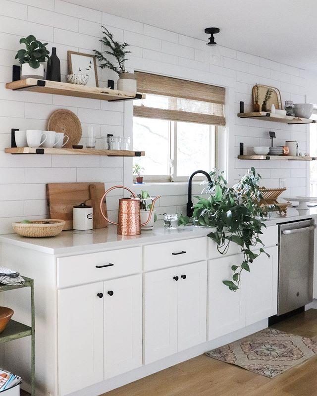 How to Make Open Shelving - A DIY Wood Shelf Tutorial