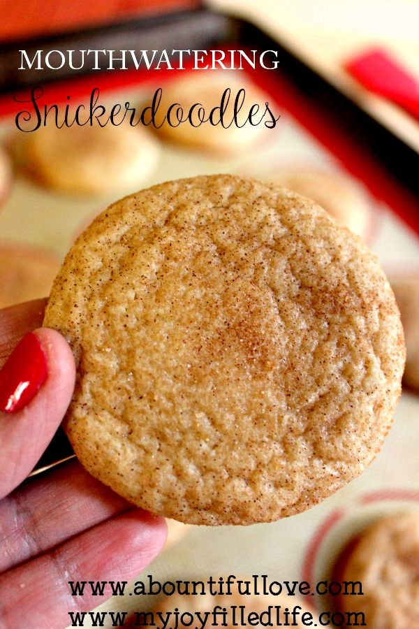 The easiest and most mouthwatering snickerdoodle recipe! What I certainly love about these cookies is that you can keep the dough refrigerated for up to five days max. There were times when I would make some cookie dough ahead, only to forget that I made them beforehand. The snickerdoodle cookie dough is also freezer friendly!