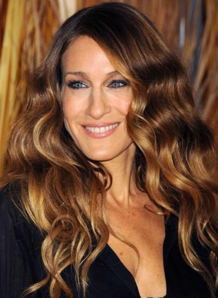 Pictures Of Honey Blonde Highlights On Dark Brown Hair Hair And