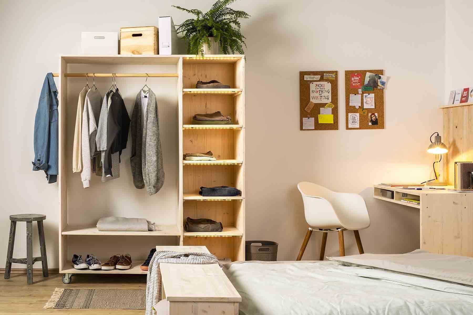 Flurmobel Lisa Selber Bauen Alle Mobel Create By Obi In 2020 Schrank Selber Bauen Diy Mobel Kleiderschrank Flur Mobel