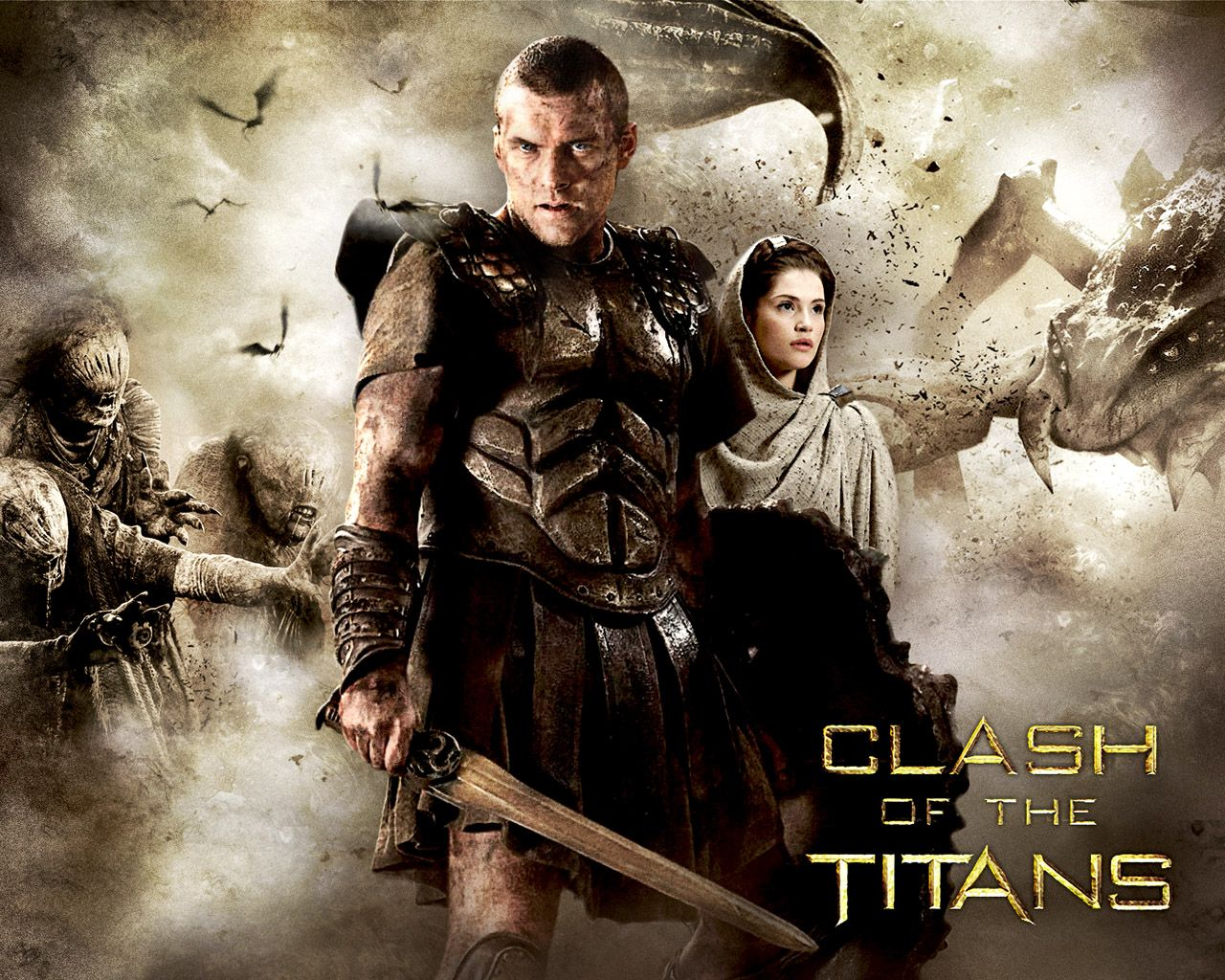Clash Of The Titans Wallpapers Hd Wallpapers Base Clash Of The Titans Wrath Of The Titans Good Movies