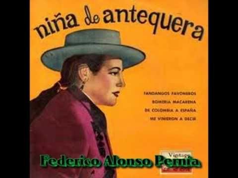 NIÑA DE ANTEQUERA.. COLOMBIANAS... - YouTube