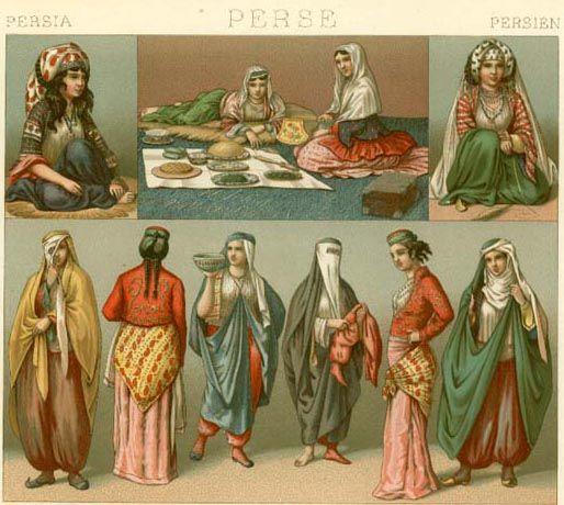 18th & 19th Century Persia | Soul Style: Women | Pinterest | Book ...