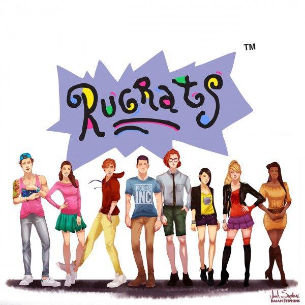 Dibujos Animados De Los 90 En La Actualidad Asi Habrian Envejecido Dibujos Animados Divertidos Rugrats Aventuras En Panales