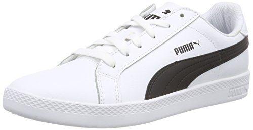 Puma Smash Wns V2 L, Zapatillas para Mujer, Blanco (Puma White-Puma White 4), 42.5 EU