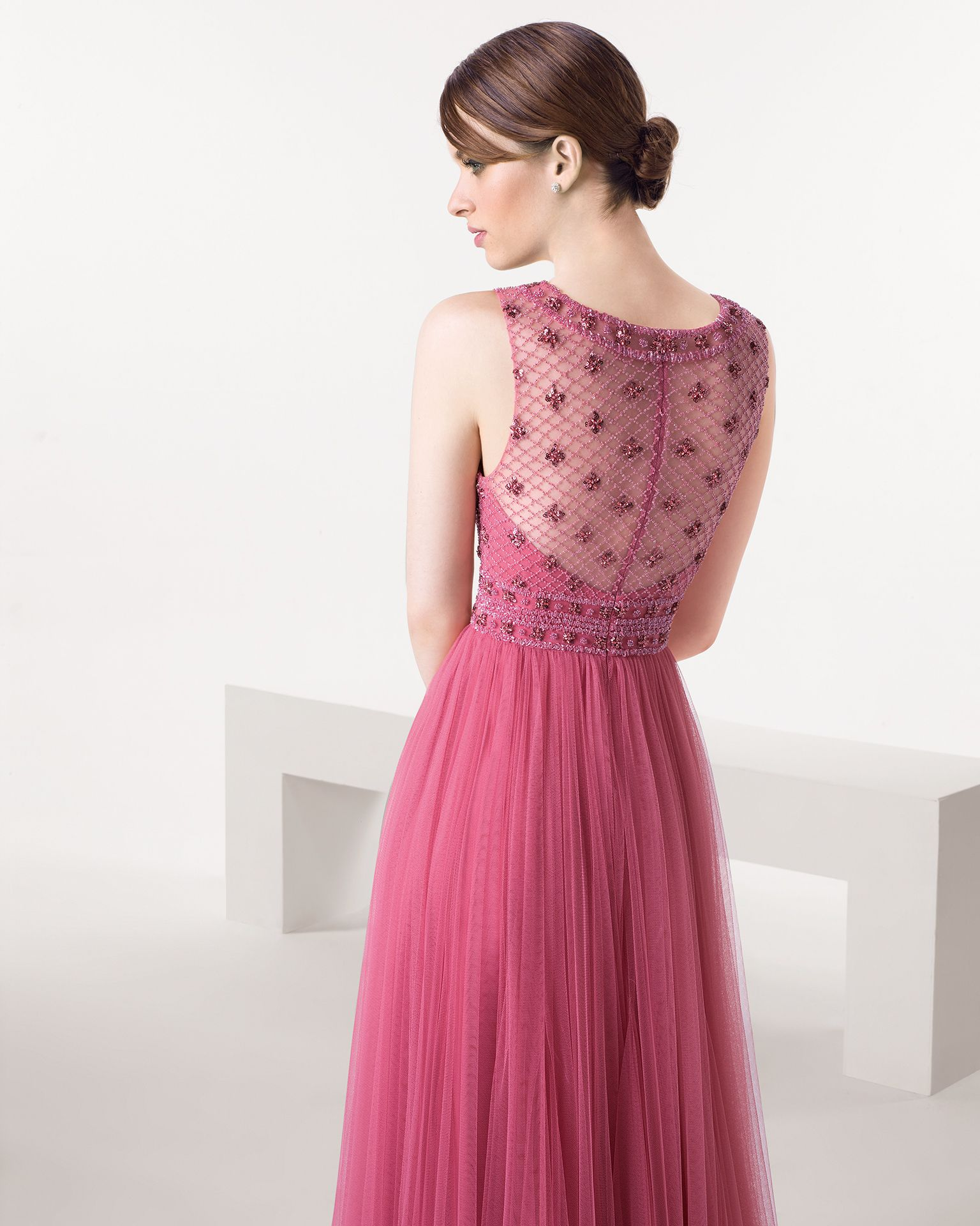 Vestido de fiesta color fucsia | COCKTAIL DRESSES | Pinterest ...