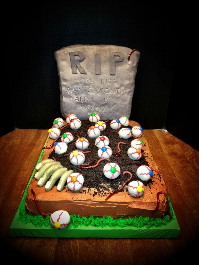 Cake Recipe Zombie Birthday Cake Recipe Halloween Birthday