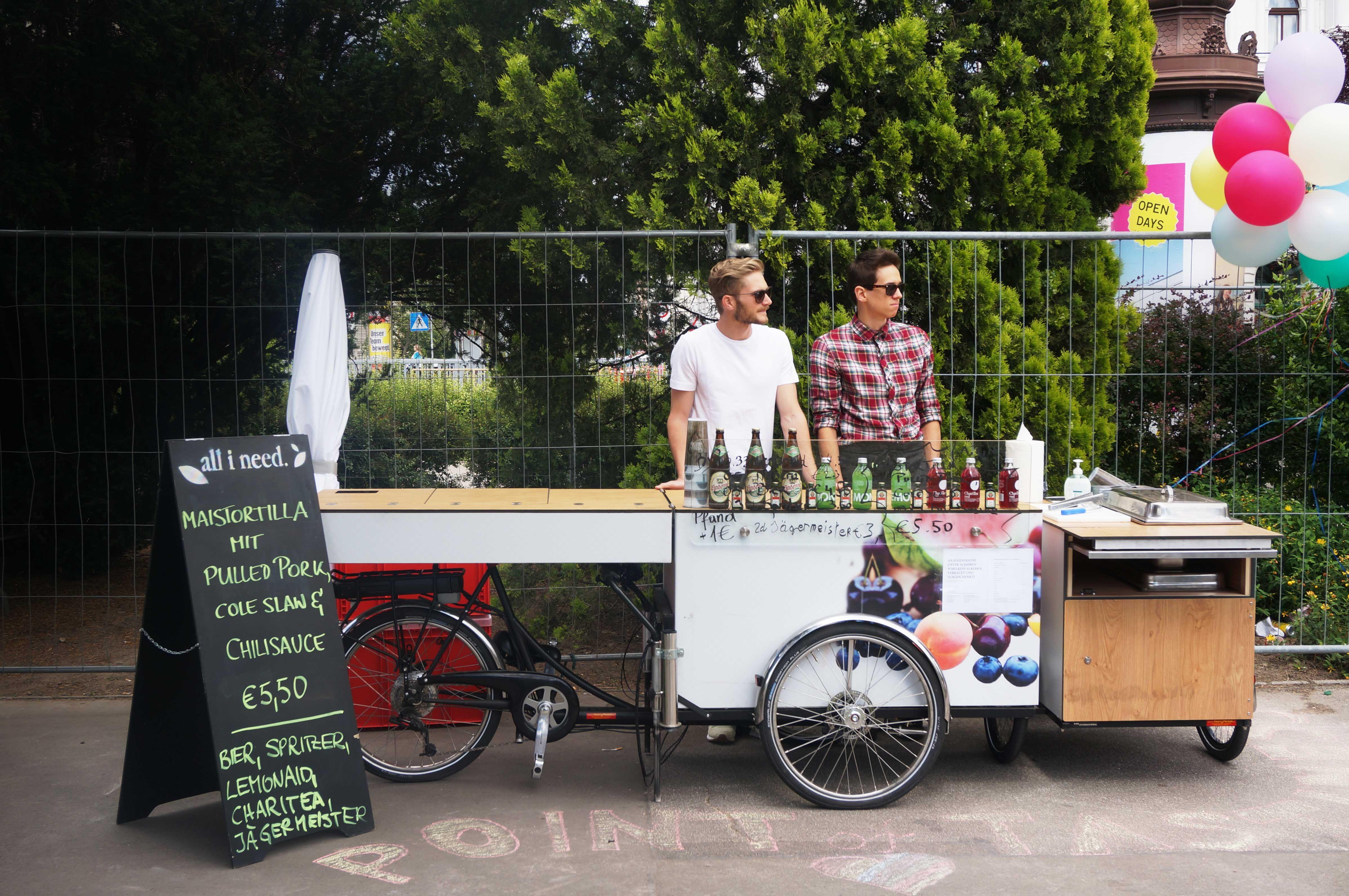 Street Food Bike Von Paulernst Ganz Ohne Footprint Dafür Mit