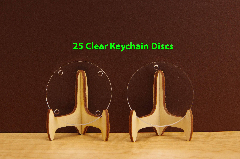 25 Acrylic Blank Keychain For Vinyl Acrylic Blank Round Keychains 3 Inch 4 Inch Acrylic Jewelry Blank Sign Acrylic Circle 3mm Bl03 Small Jewelry Acrylic Jewellery Vinyl Blanks