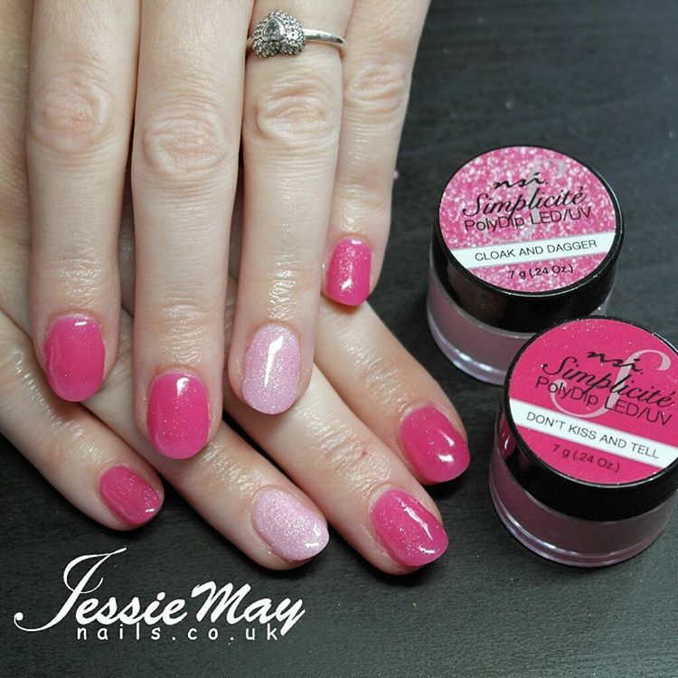 Nail Dipping System: Love This Pink! New NSI Simplicite Polydip Nail Dipping