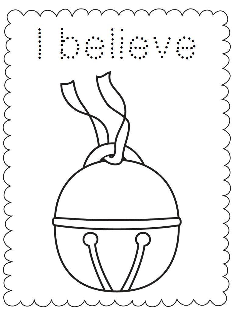 Actividad imprimible para colorear del Expreso Polar #navidad | ESL ...