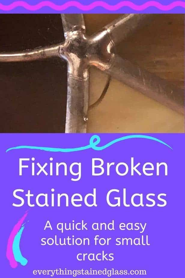 Repairing a Broken Stained Glass Window Fixing cra