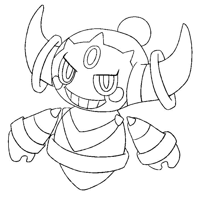 Image Result For Pokemon Coloring Pages Hoopa Colouring Pages