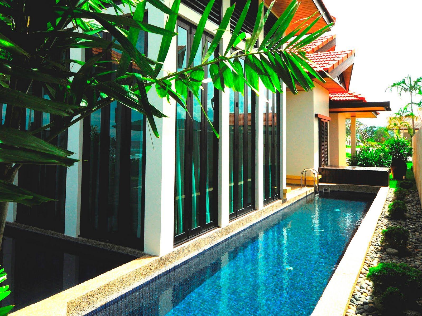 Lap Pool Villa Google Search Pool Lap Pool Backyard