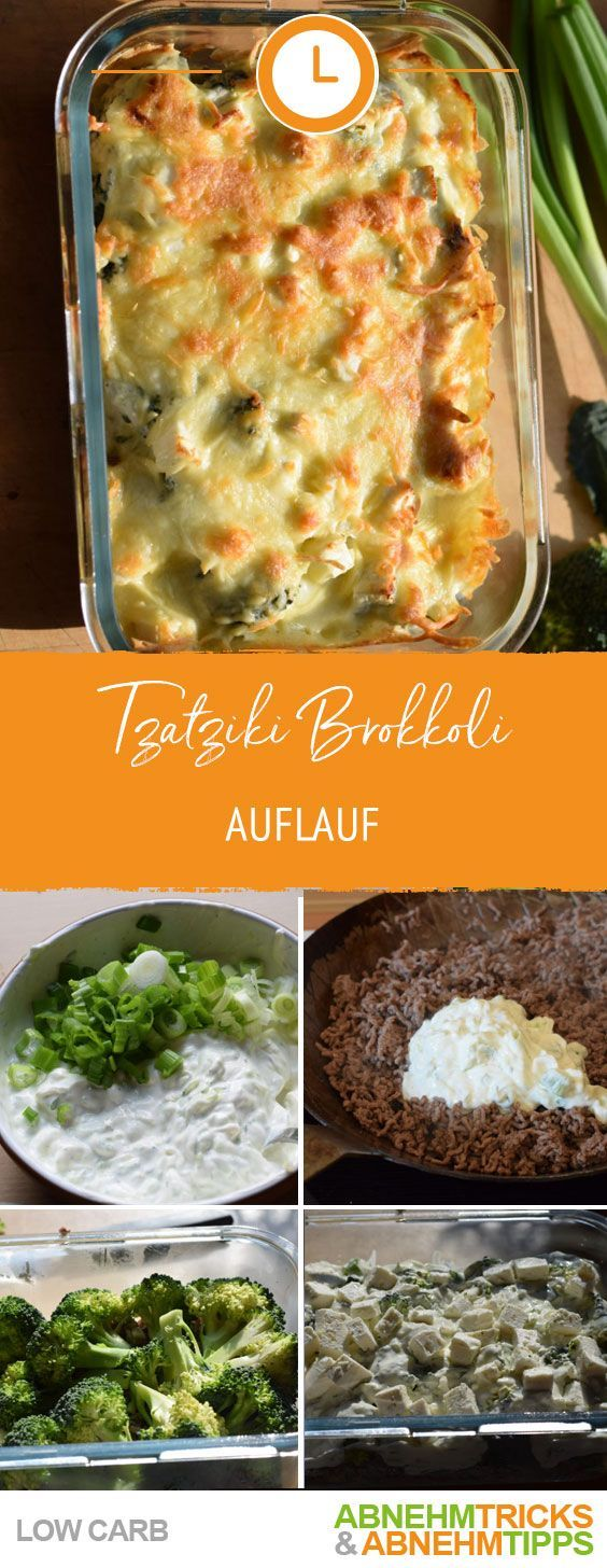 Photo of Ultra delicious low carb tzatziki broccoli bake!