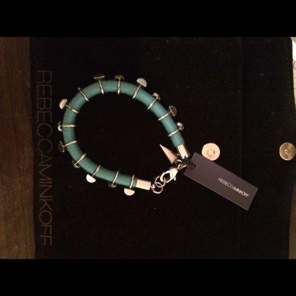 Rebecca Minkoff bracelet Beautiful NWT Rebecca Minkoff turquoise  colored bracelet. Rebecca Minkoff Accessories