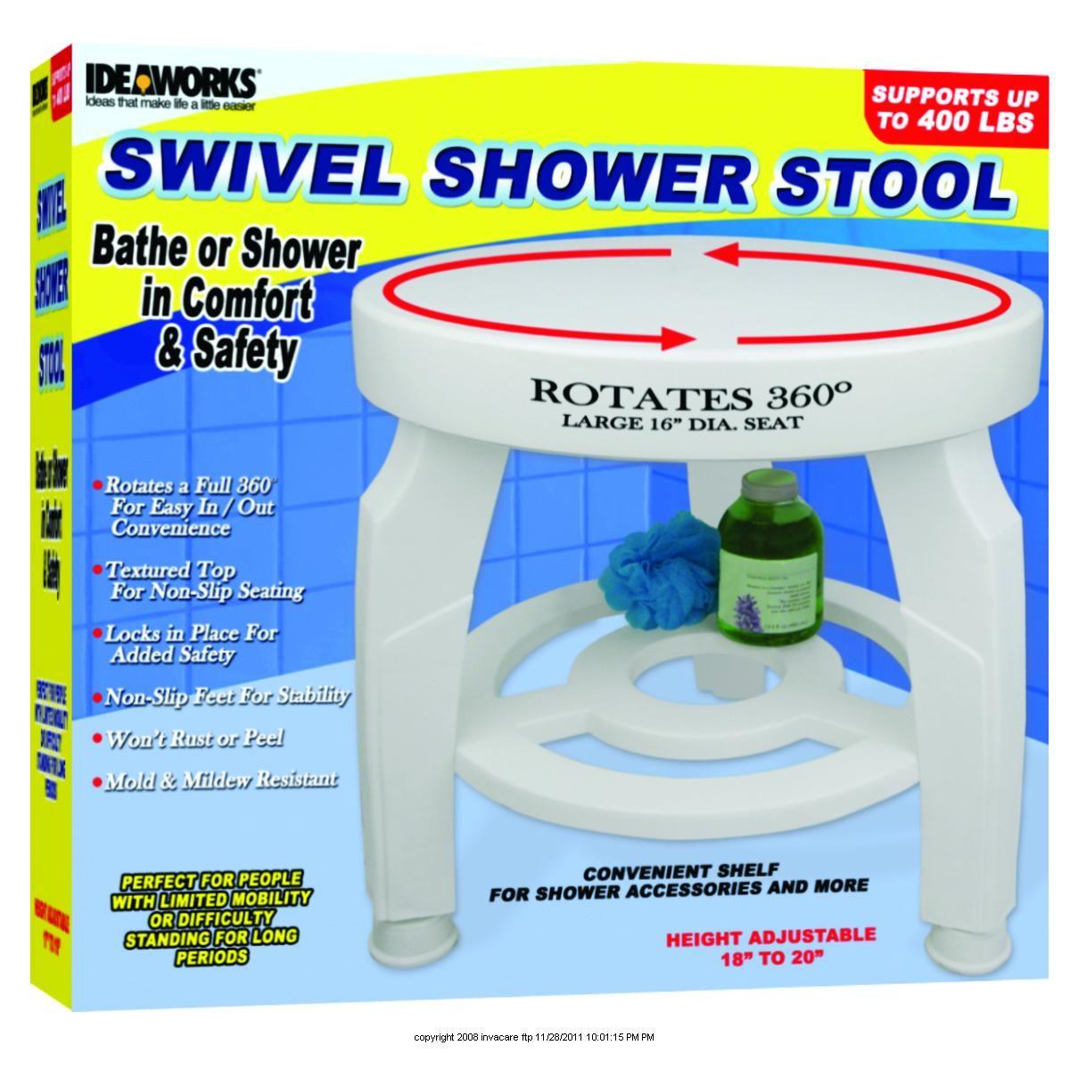 Swivel Shower Stool | Forever Young | Pinterest | Stools